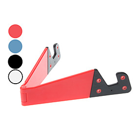 Portable Folding Stand Holder for iPad Mini and Others (Random Color)