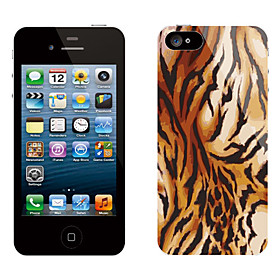 Tiger Grain Pattern Protective Sticker for iPhone 5