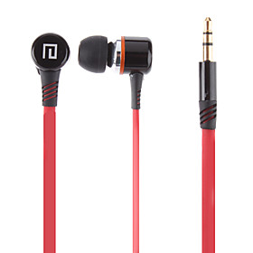 Lanston Hi-fi Noise-isolation Stereo Earphone with Mic for iPod/iPad/iPhone/HTC/Blackberry/Samsung