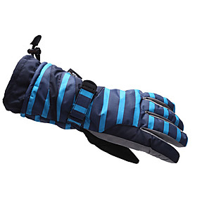 Outdoor Waterproof Skiing Gloves (Stripe Design)