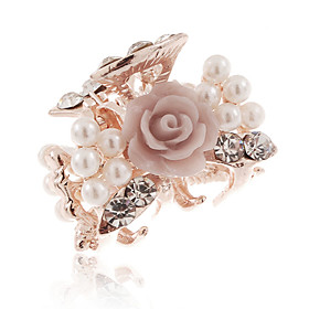 Women's Flower Diamond Hair Clip(2.2 2CM)
