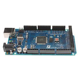 Funduino2560 ATmega2560-16AU Board  Free USB Cable (arduino mega2560 compatible)