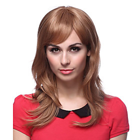 100% Human Hair Advanced Blone Body Curl Long Hair Wigs