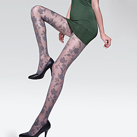 Women's Slim Lace Super Thin Pantyhose