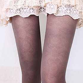 Women's Vintage Slim Lace Legging