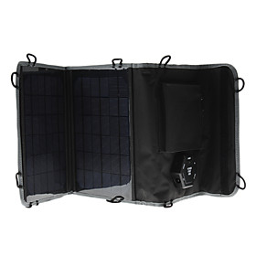 10W Portable Multi-Functional Solar Charger with Car Barrel Power Adapter