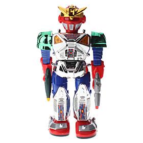 Walking Gun Fighter Robot with Light Effect (3xAA)
