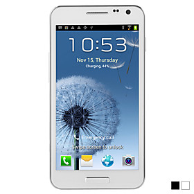 E120L Dual core MT6577 1GHz Android 4.0 Dual Card 4.7 Inch Capacitive Touchscreen Cell Phone(WIFI,FM,3G,GPS)