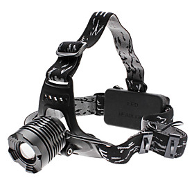 Focus Adjustable Zoom 3-Mode Cree XM-L T6 LED Headlamp (10w, 1000LM, 2x18650)