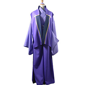 Fate/Stay Night Assassin Kojirou Sasaki Cosplay Costume