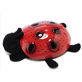 Lovely Ladybug Colorful Starry Sky Projector (3xAAA)