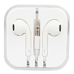 Retail Packed Stereo In-Ear Headphone for iPods (White, 115cm)