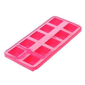 Cubic Shaped Silicone Ice Tray Ice Mold