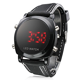LED Dot-Matrix Date/Time Fashion Watch - Water Resistent