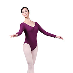 Gorgeous Dancewear Cotton/Spandex Ballet Leotard For Ladies