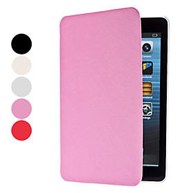 Protective PU Leather Case with Stand for iPad Mini (Assorted Colors)
