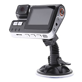 HD Portable Infared Night Vision Vehicle DVR Camcorder Car Camera with 2.0 TFT LCD Screen