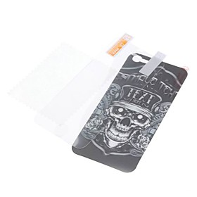 3D Effect Cool Skulls Pattern Back and Front Protector Sticker for iPhone 5