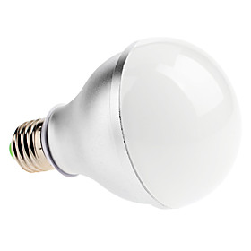 E27 6W 560-600LM 7000K Cold White Light LED Ball Bulb (220V)