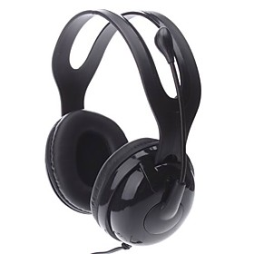 HYUNDAI Noise-Cancelling Bass Stereo Headphone with Mic for Gaming  Skype