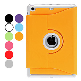 Rotatable PU Leather Case with Stand for iPad Mini (Assorted Colors)