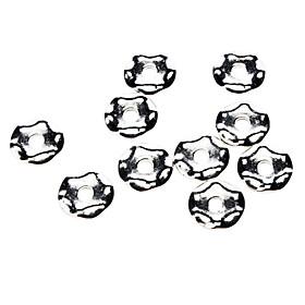 Hexagonal Shape Blanchet Beads (Contain 10 Pics)