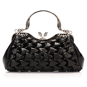 Gorgeous PU with Crystal Evening Handbag/Clutches(More Colors)