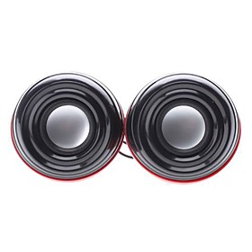 ROOT R800 3D Sound 2.0 Channel USB Multimedia Speaker (3w x 2)