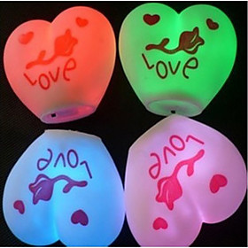 I Love You Design Colorful LED Night Light