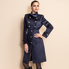 TS Military Double Breasted Tweed Coat