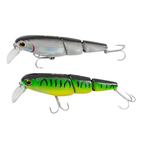 Hard Bait Vibration Plastic Fishing Lure 95mm 17g (Color Random)