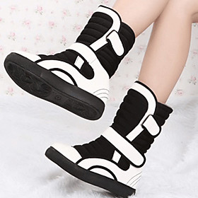 YiJie-Newest Women's Fashion Warm Mid-Calf Boots