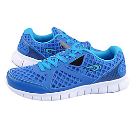 Men's Rubber Breathable Lighten Anti-Slip Damping Lace-ups Ankle Sports Shoes (Assorted Colors)