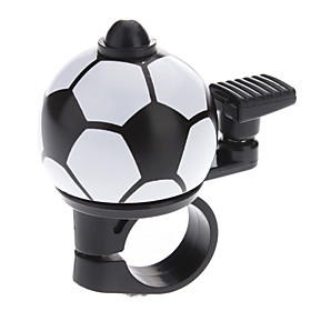 Black and White Football Shaped Bicycle Bell