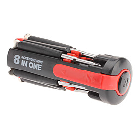 8-in-1 Multi-Screwdriver with Powerful Torch