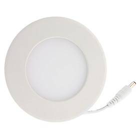 4W 320-360LM 3500K Warm White Light Round LED Ceiling Bulb (85-265V)