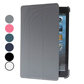 Folding Design Ultrathin PU Leather Case with Stand for iPad mini (Assorted Colors)
