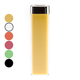 Power Bank for iPod, iPhone, Mobile Phone and More (Assorted Colors, 2500 mAh)