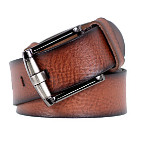 Men's Vintage Casual Pin Buckle Leather Belt