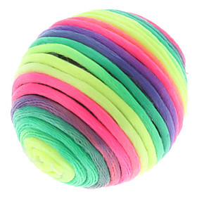 Colored Thread Rolling Ball for Cats