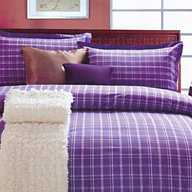 Stockholm Plaid Twin / Queen / King 3-Piece Duvet Cover Set