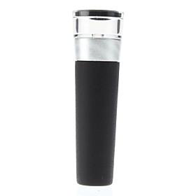 3.2 Transparent Head Aluminum Wine Vacuum Pump Bottle Stopper