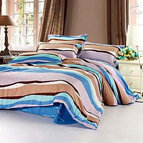 Hawaiian Full 4-Piece Duvet Cover Set