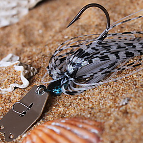 Metal Bait Jig Head 18g Sinking Fishing Lure 5pcs