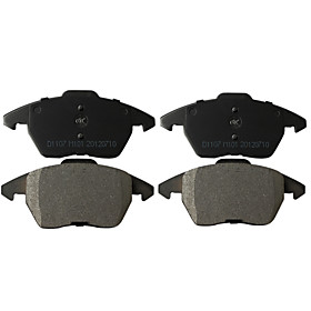 Front Ceramic Brake Pad Set for Volks-Wagon, Audi (4 Pieces)