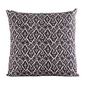 Geometric Pattern Cotton Decorative Pillow Cover