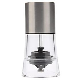 5 Stainless Steel Manual Pepper Spice Salt Mill Grinder