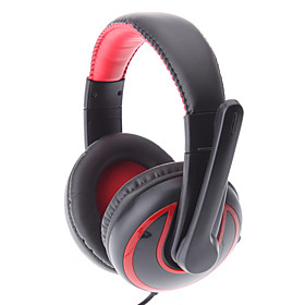Y-700 Classic Comfortable Design Red Headphone For PC/ MP4/Notebook