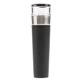 3.2 Transparent Head Stainless Steel Wine Vacuum Pump Bottle Stopper