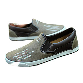 English Printing Pattern Leisure Canvas Men'S Shoes(Assorted Sizes and Colors)